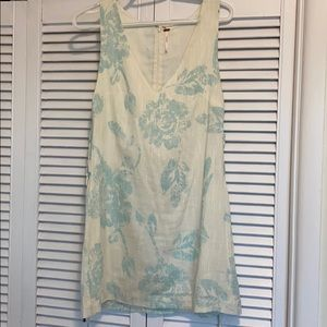 Free People Surfer Floral Print Mini Dress